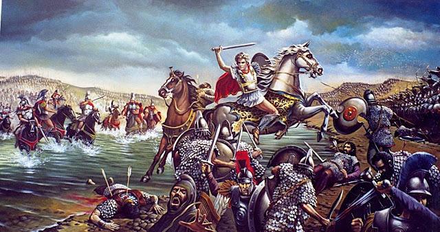 Αποτέλεσμα εικόνας για γρανικος ποταμος μαχη