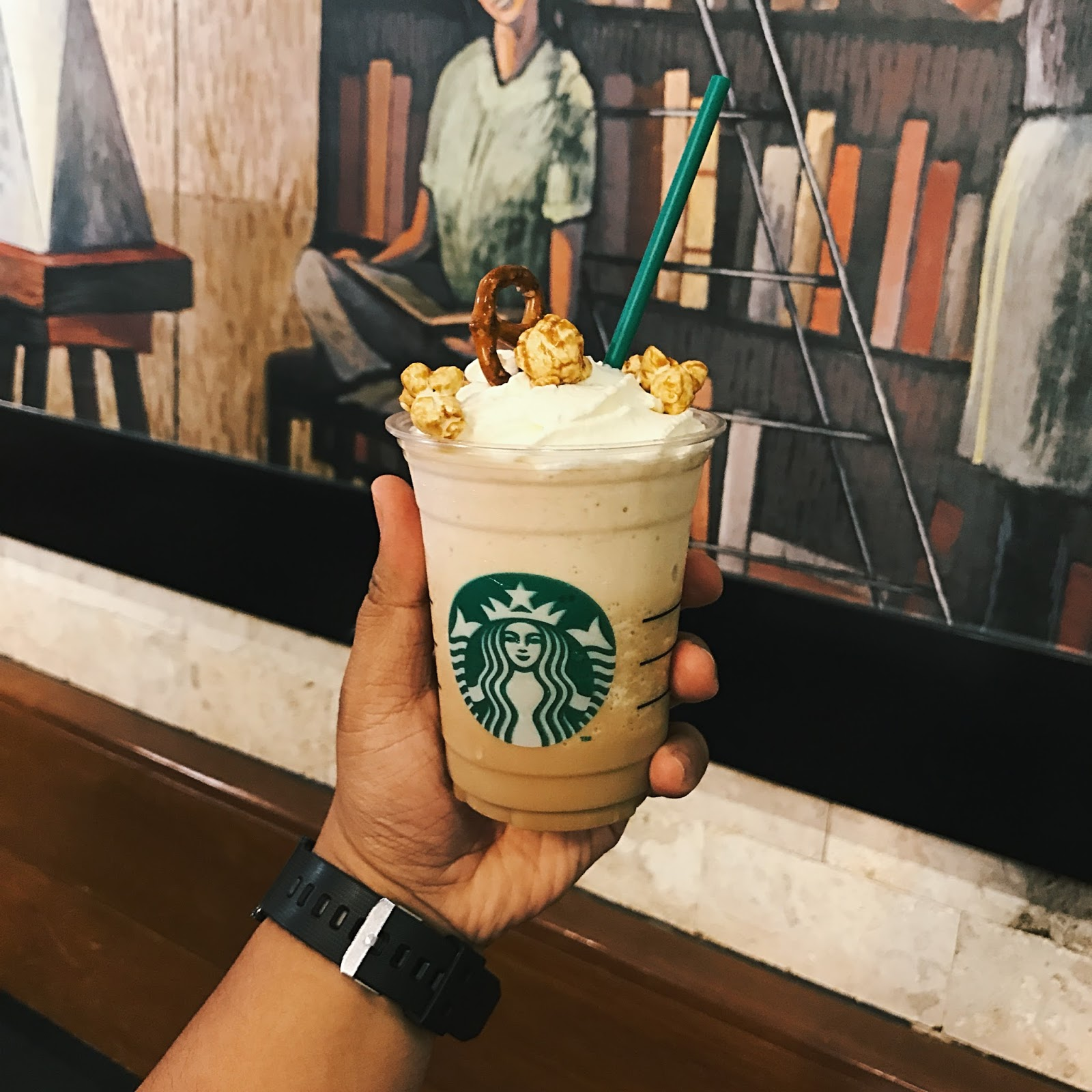 Pop'zel Coffee Frappuccino® Blended Beverage