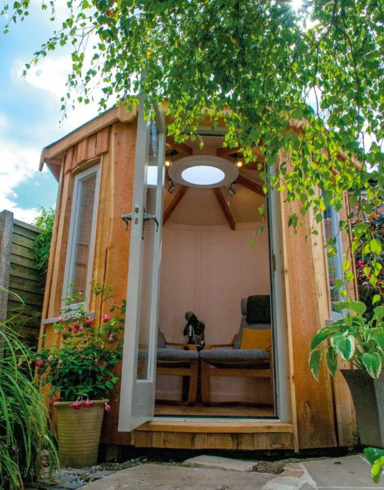 Shedworking: Rotunda small garden office