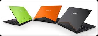 Laptop Gigabyte AERO 14 dengan Grafis GeForce GTX 1060