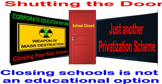 Image result for big education ape Closing schools
