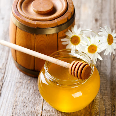 honey for removing scars
