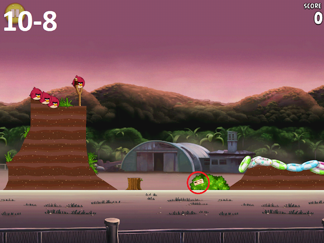 Angry Birds Rio - Airfield Chase 10-8