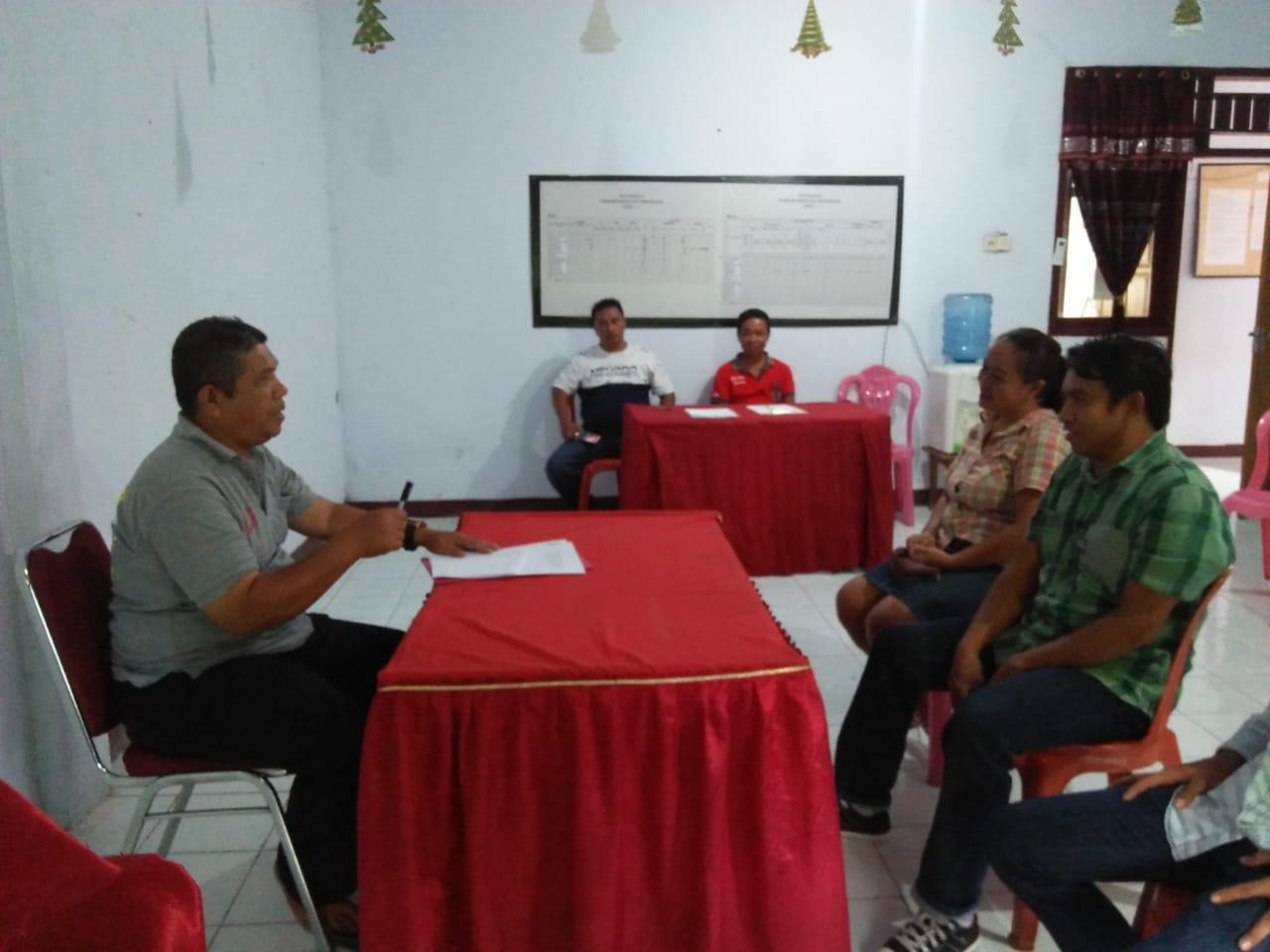 Rekrut perangkat kampung, Kapitalau Bandil libatkan pemerintah kecamatan