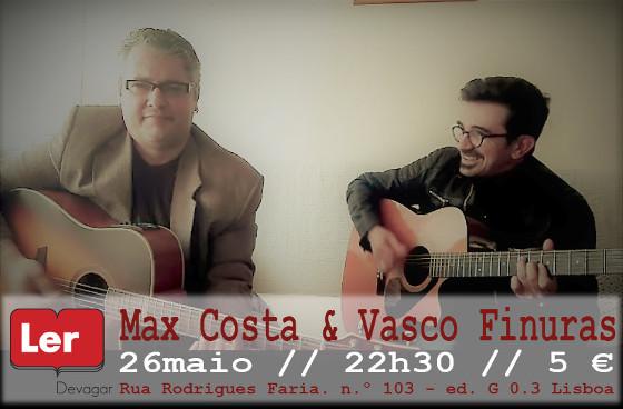 Max Costa e Vasco Finuras