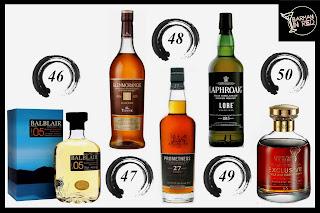 mejores whiskies top 50