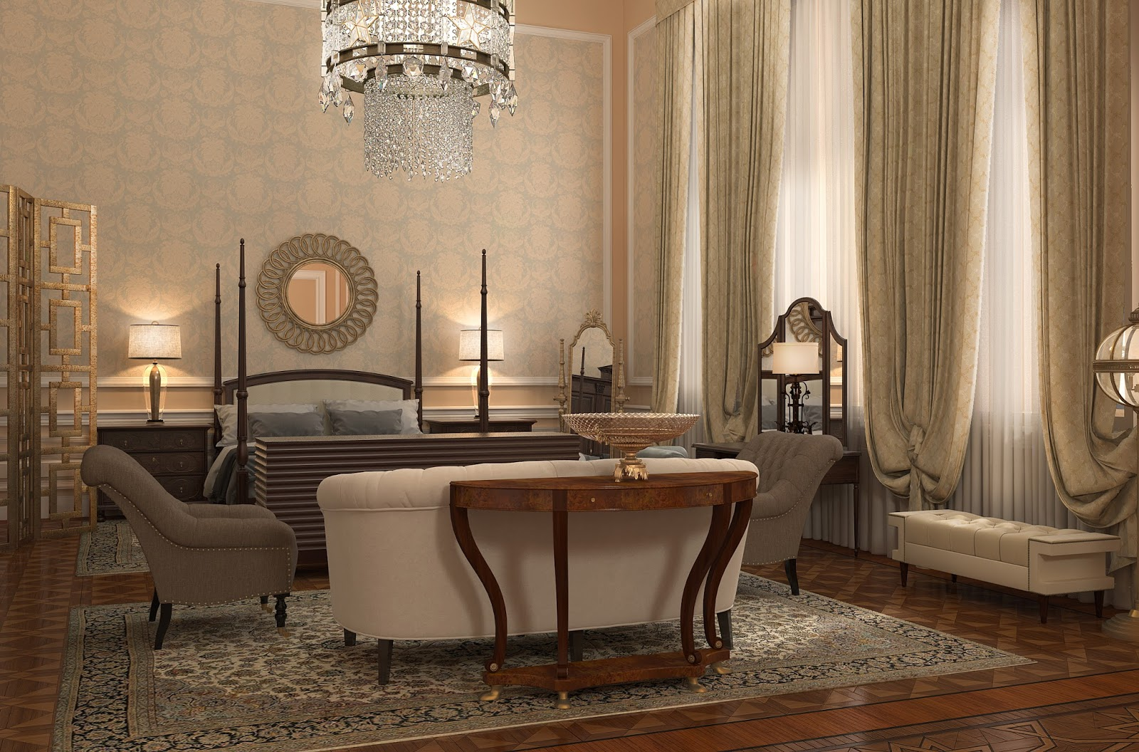 Darya girina interior design march 2015 -  Vision Of Interiors Of The Bariatinsky Palace Antique Elements Combine With Luxury Contemporary Classical Furniture And Decoration Darya Girina
