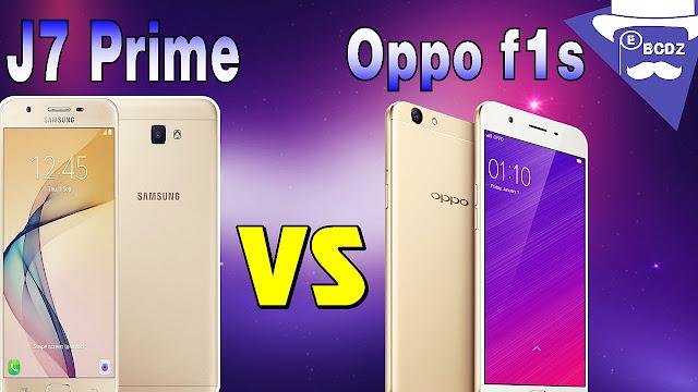 مقارنة بين هاتف Oppo f1s و Galaxy J7 Prime - مدونة الأهراس