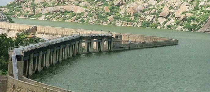 Jawai Dam in Sumerpur Pali Rajasthan