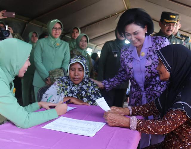 Dharma Pertiwi Gelar Bakti Sosial Kesehatan di Desa Tanjung Kait Banten