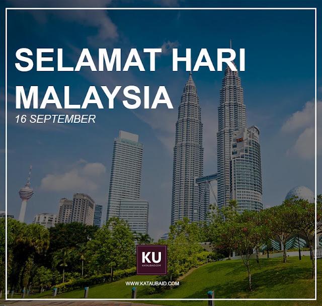 HARI MALAYSIA 16 SEPTEMBER !