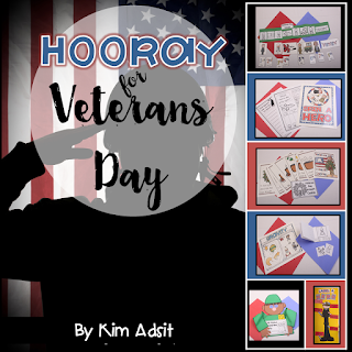 https://www.teacherspayteachers.com/Product/Veterans-Day-160874