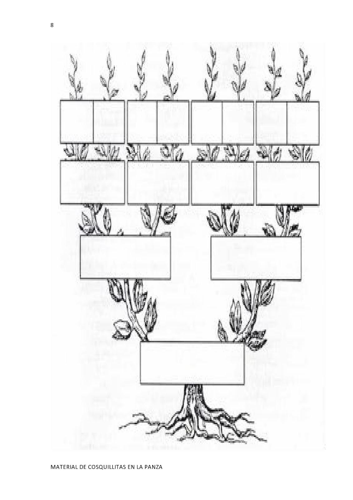 Mi Arbol Genealogico Para Pintar Imagui