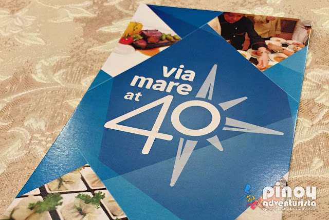 Via Mare Restaurant 40th Anniversary