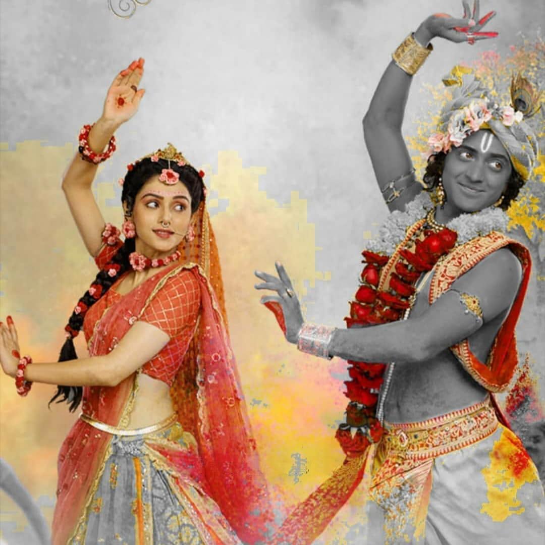 IND 彡Radha Krishna Quote彡 - जो हो चुका है वह अच्छा हुआ,