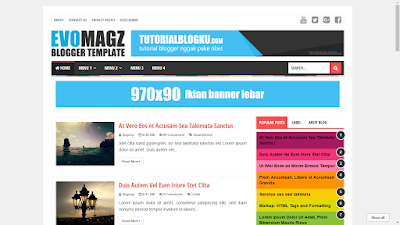 Download Template Evo Magz Premium Dan Gratis