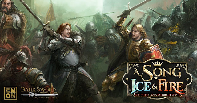 Cool Mini or Not: A Song of Ice and Fire - Stark Sworn Sword Miniatures Preview