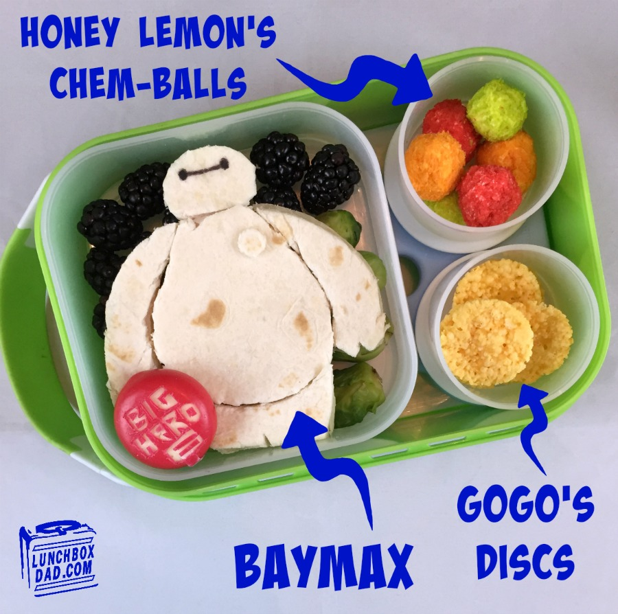 Disney's Big Hero 6 Bento Lunch