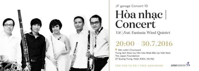 JF Garage Concert 10: Concert Feat. Fantasia Wind Quintet
