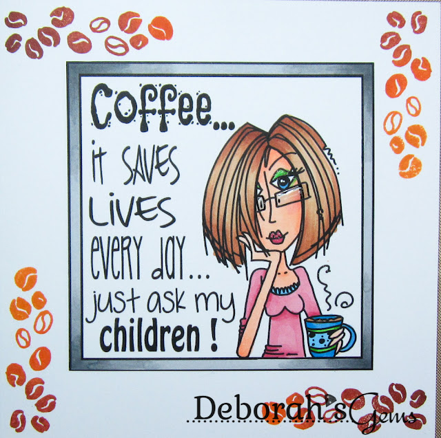 Coffee - photo by Deborah Frings - Deborah's Gems
