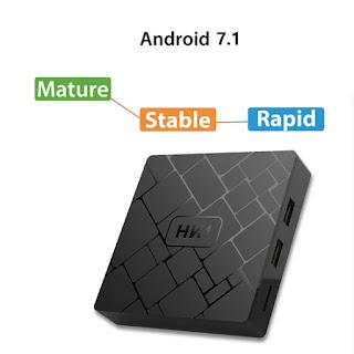 tv box android hk1 2gb 16gb