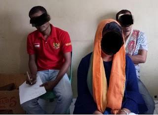 Pasangan Non Muhrim diamankan oleh Satuan Lalu Lintas Polres