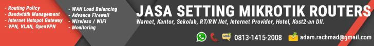 Jasa Setting MikroTik