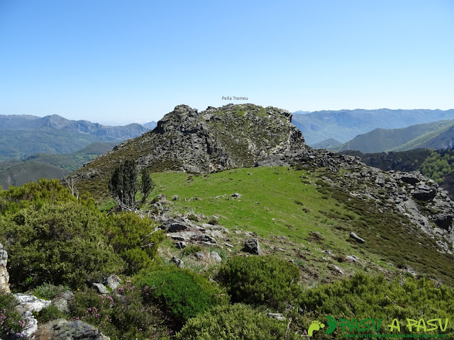 Vista de la Peña Tromeu