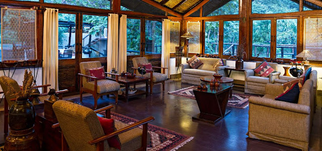 Luxury Wildlife Lodge, India