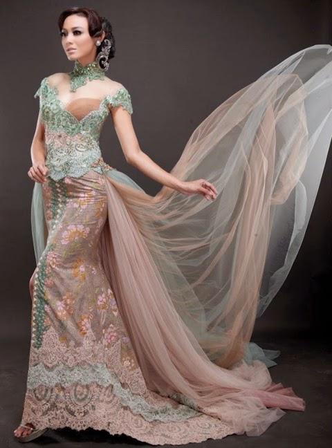 model baju pengantin modern