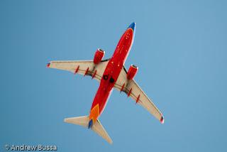 Southwest Airlines 737-700 Take Off Las Vegas