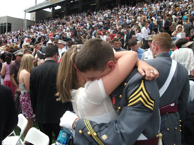 """West Point Graduation Week: All about our experience celebrating """"Grad Week"""" from The United States Military Academy.  Parades, banquets, balls, graduation tickets, parties, the officer uniform, the emotions, and so much more."""