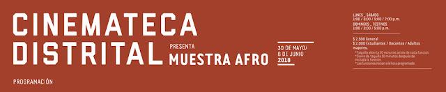 Programación Muestra Afro