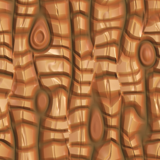 Cartoon Wood 4