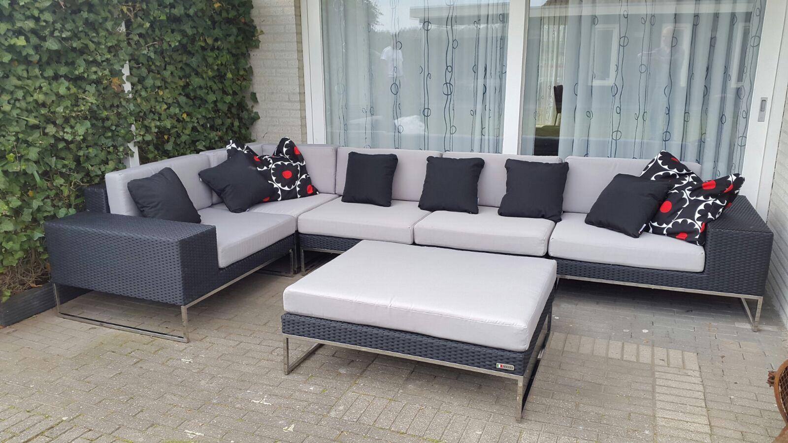 Lounge Bank Tuin : Arbrini design tuinmeubelen maart