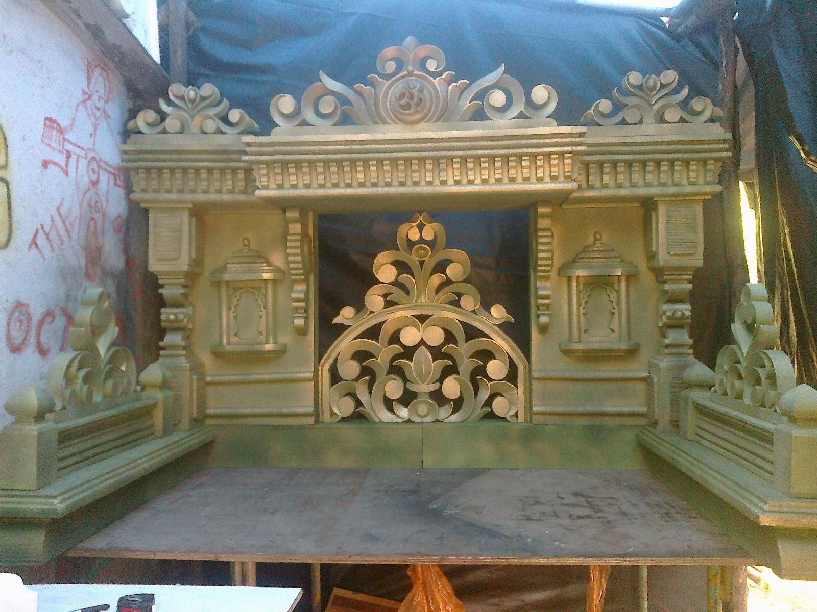 Ganpati Decoration Open Makhar | www.pixshark.com - Images ...