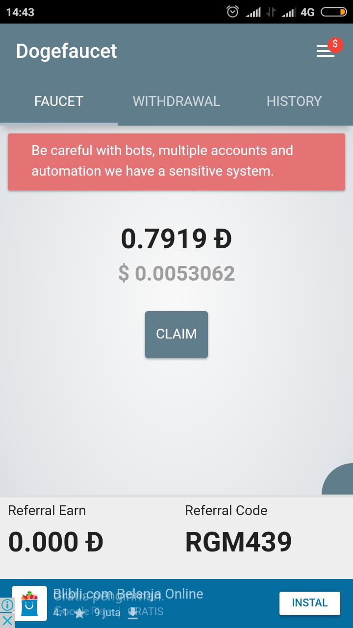 Whats Mining Crypto Gratis Disini Ekonomi Dan Bisnis Dogecoin Eceran Screenshot 2018 01 25 14 43 42 600 Comdogefaucet