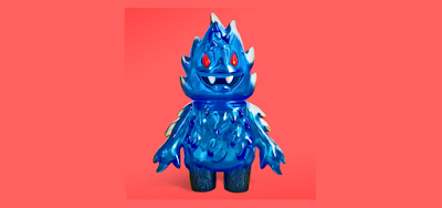Five Points Fest 2018 Exclusive Aqua Inferno Honoo Vinyl Figure by Leecifer x Super7
