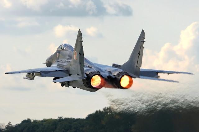 MiG-29 Fulcrum of Poland Air Force