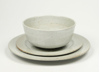 peter sheldon ceramics place setting