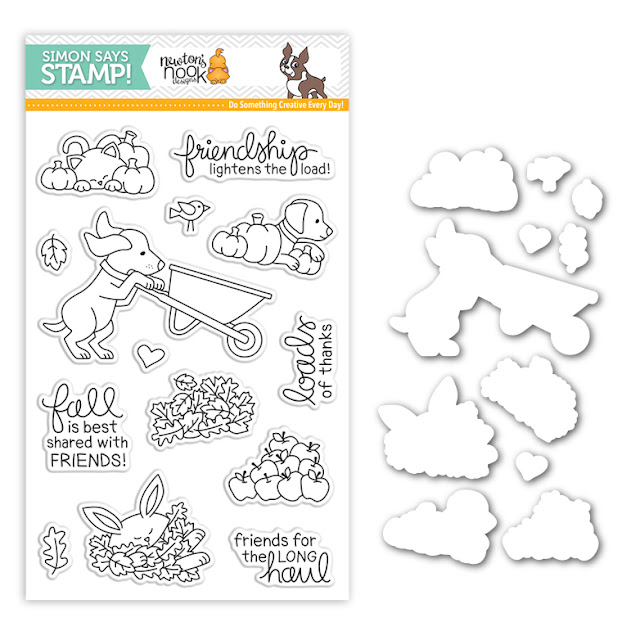 Newton's Nook Designs Loads of Thanks Stamp Set created for Simon Says Stamps Stamptember®