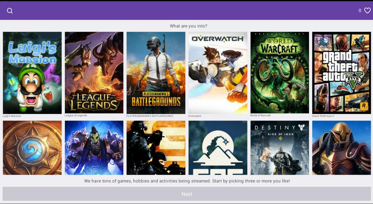Twitch: New Twitch app auto follows streamers