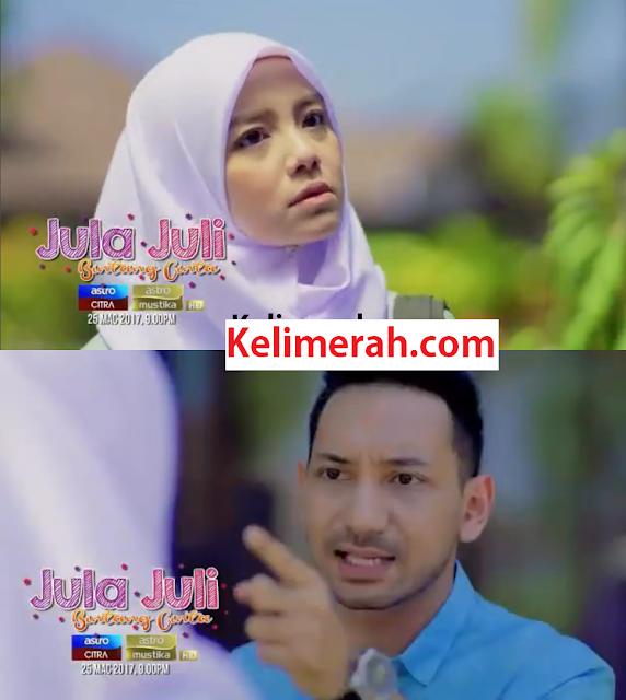 Telemovie Jula Juli Bintag Cinta Lakonan Mira Filzah ,Zizan Razak