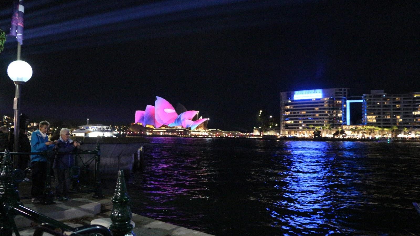 Vivid Sydney Harbour