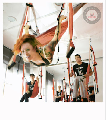yoga aereo teacher training