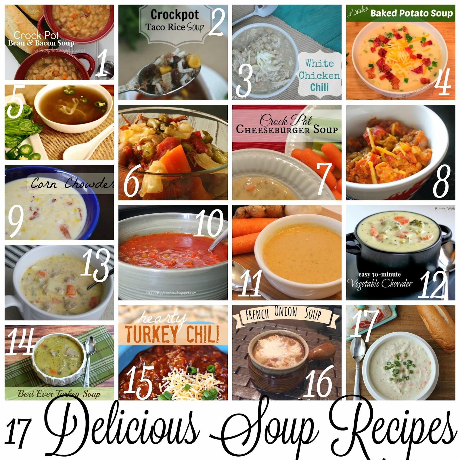 Block Party 17 Delicious Soup Recipes Features Rae Gun Ramblings
