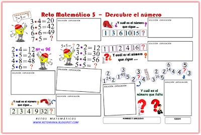 Descubre el número, Cuál es el número que falta, ¿Cuál es el resultado?, ¿Cuál es la respuesta?, Encuentra el número que falta, ¿Cuál es el número que sigue?, Retos Matemáticos, Desafíos Matemáticos, Problemas Matemáticos, Problemas de lógica