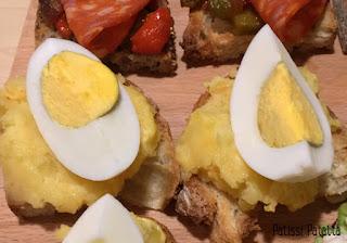 recette de pintxos, pintxos basques, tapas basques, apéritif espagnol, pintxos oeuf, pintxos pomme de terre
