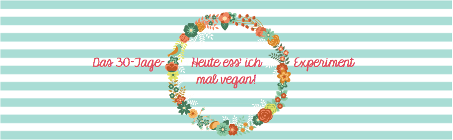 Heute ess' ich mal vegan