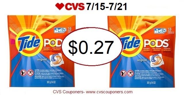 http://www.cvscouponers.com/2018/07/wow-tide-pods-only-027-at-cvs-715-721.html